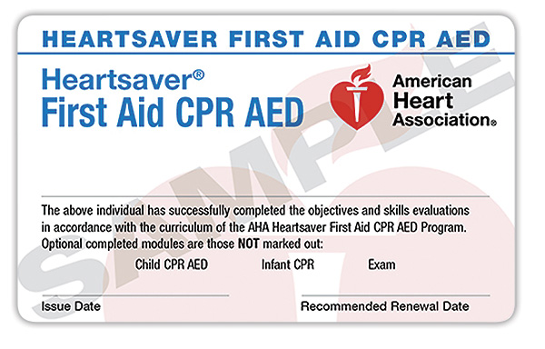 EMS Office CPR and First Aid Classes April 22