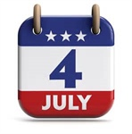 County Offices Closed July 4
