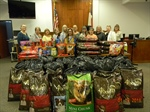 JP 4 Office Donates More Than 960 pounds of Dog and Cat Food to Taylor Animal Shelter