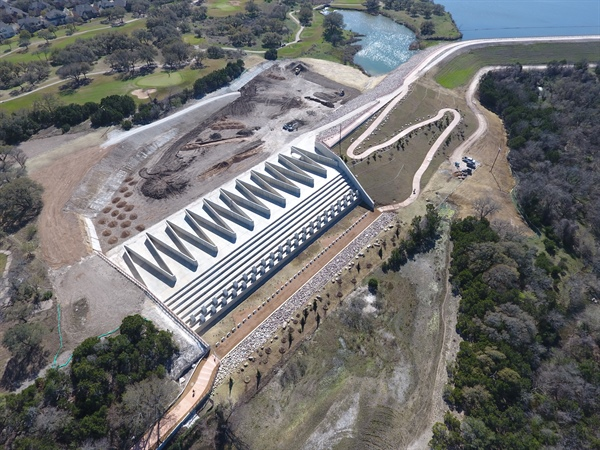 Ribbon Cutting for Brushy Creek Regional Trail and Dam 7 Improvements April 18