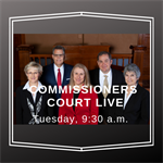 Commissioners Court Meetings Available LIVE