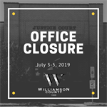 JP 4 Office Closed July 3-5, 2019