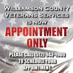 Williamson County Veterans Services by Appointment Only