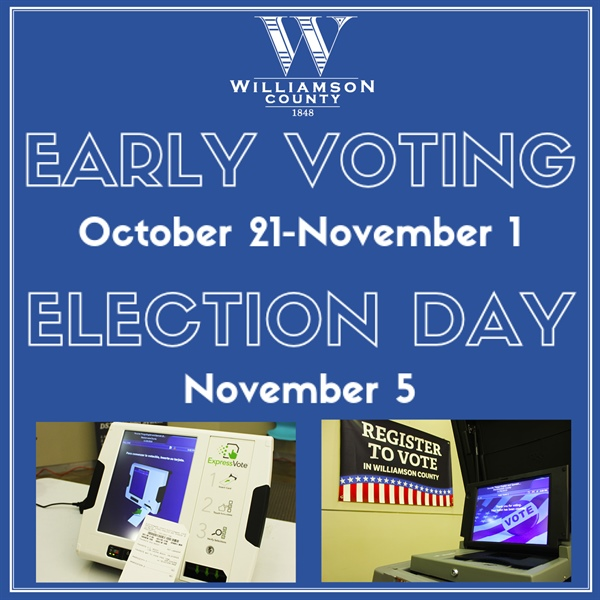 Early Voting Begins Oct. 21