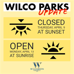 Williamson County Parks and Trails to Close for Easter Weekend