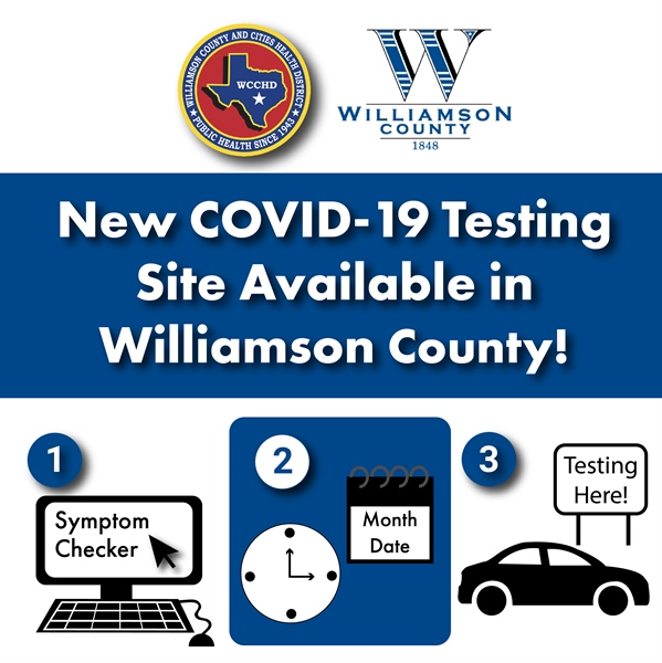 New COVID-19 Testing Site Available in Williamson County