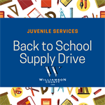 Juvenile Services Back to School Supply Drive