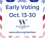Are You Vote Ready? Early Voting Runs Oct. 13-30