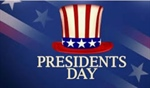 Presidents Day observed - all offices closed