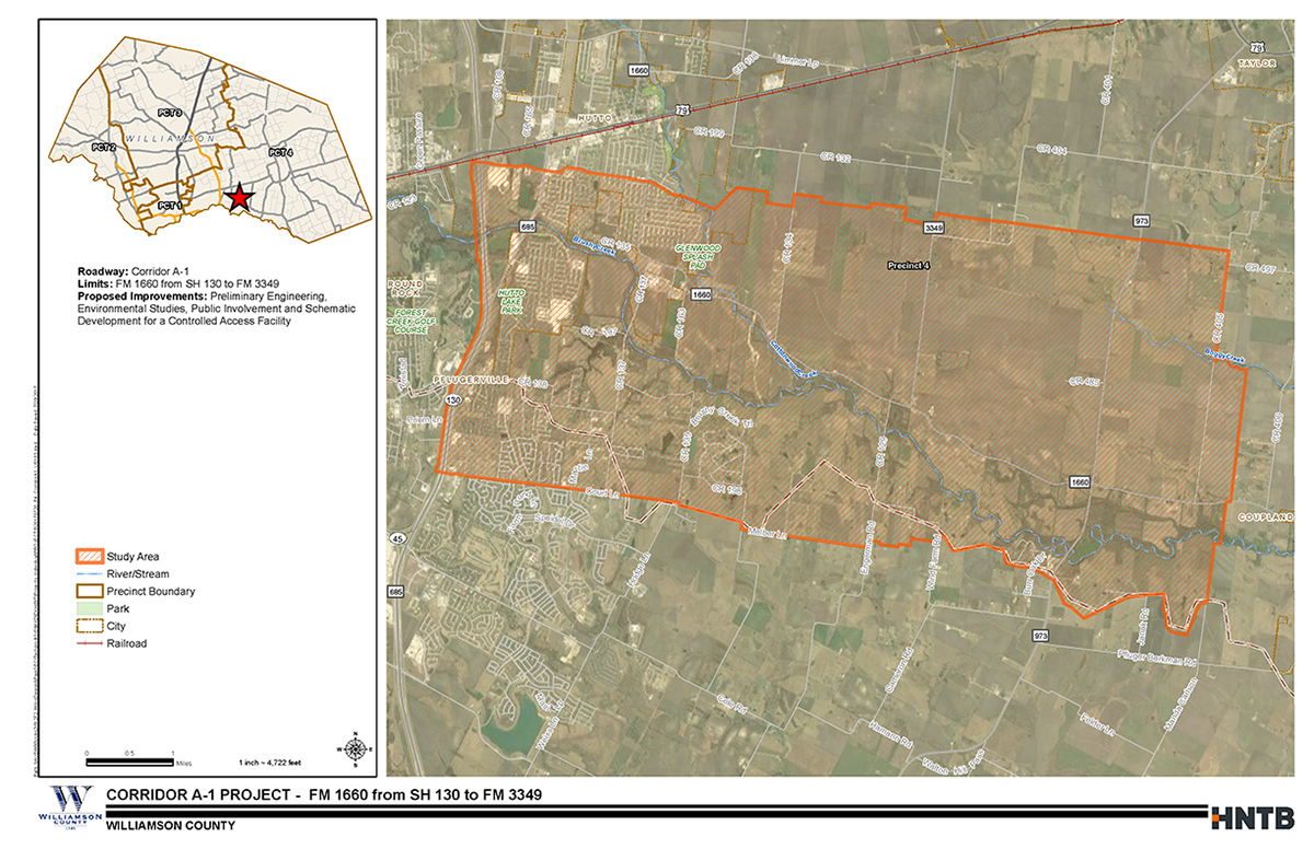 Map Of Georgetown Tx 78626.Corridor A 1