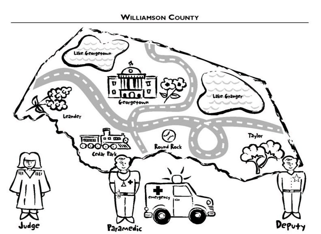 County Coloring Page