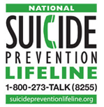 Logo for the National Suicide Prvention Hotline