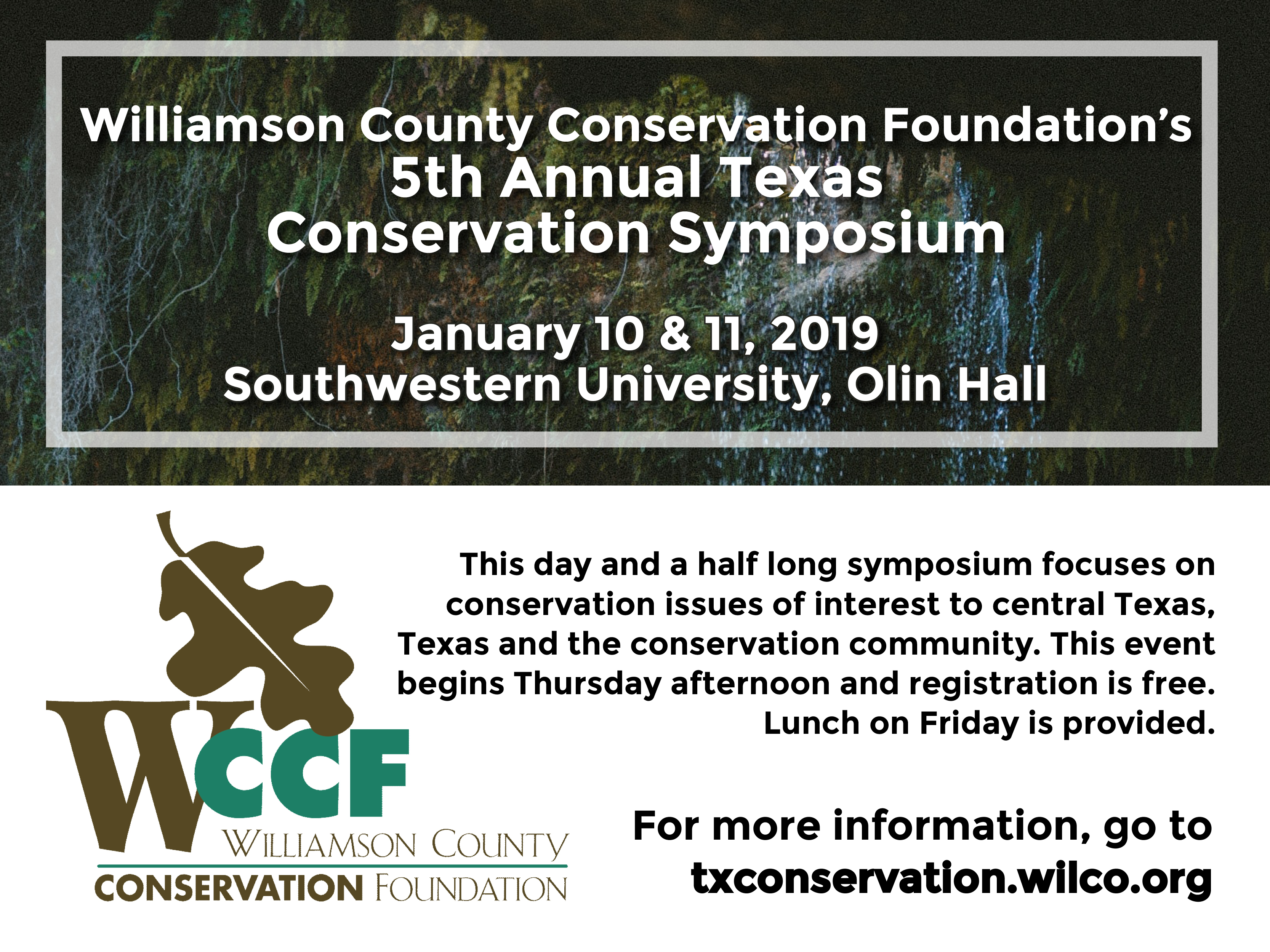 Wilco > Departments > Conservation Foundation > Texas
