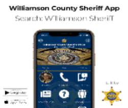 Image linked to Williamson County Sheriff's Iphone Application